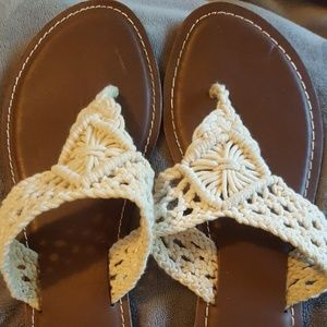 Charming Charlie Thong Sandals Size 6